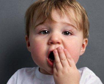 Trauma dente bambino